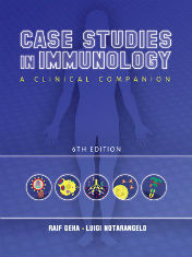 "Ok�adka ksi��ki: ""Case Studies in Immunology, A Clinical Companion"""