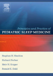 "Okładka książki ""Principles and Practice of Pediatric Sleep Medicine"""
