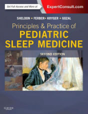 "Okładka książki ""Principles and Practice of Pediatric Sleep Medicine, 2nd Edition"""