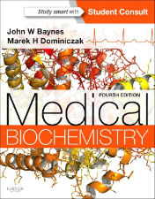 "Ok�adka ksi��ki: ""Medical Biochemistry, 4th Edition"""