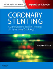 "ok�adka ksi��ki: ""Coronary Stenting: A Companion to Topol's Textbook of Interventional Cardiology"""