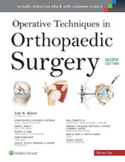 "ok�adka ksi��ki: ""Operative Techniques in Orthopaedic Surgery (Four Volume Set)"""
