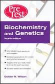 "Ok�adka ksi��ki: ""Biochemistry and Genetics Pretest Self-Assessment and Review, Fourth Edition"""