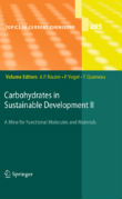 "Ok�adka ksi��ki: ""Carbohydrates in Sustainable Development II"""